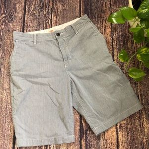🌀Dockers | Flat Front Striped Shorts